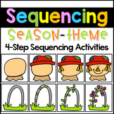Sequencing Stories with Pictures - Seasons Sequencing Picture Cards