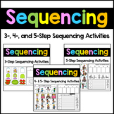 Sequencing Stories with Pictures - Sequencing Picture Cards BUNDLE