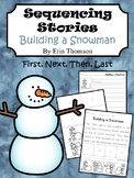 Sequencing Story ~ Building a Snowman