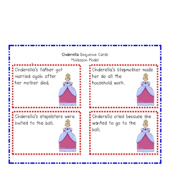 Sequencing Story Cards