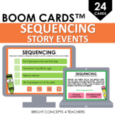 Sequencing Story Events BOOM Cards / Digital Task Cards