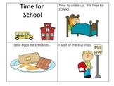 Sequencing Story- Time for School