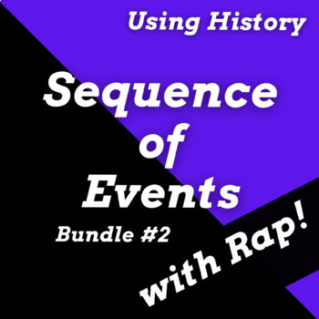 Sequencing Story Worksheets and Sequence of Events Reading Passages w/ Songs #2