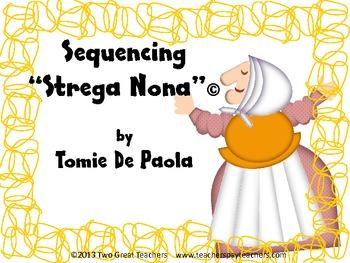 """Sequencing """"Strega Nona"""""""