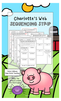 Sequencing Strips: Charlotte's Web