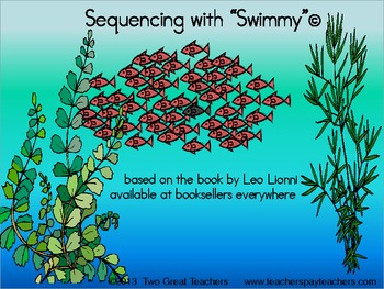 Sequencing Quot Swimmy Quot By Leo By Two Great Teachers