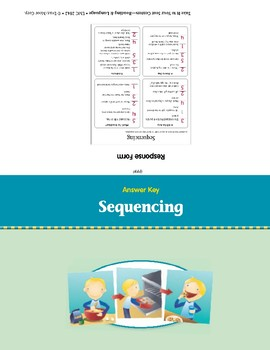 Sequencing (Take it to Your Seat Centers)