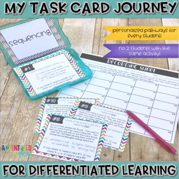 Sequencing Task Cards (Differentiated)