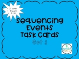 Sequencing Task Cards Set 1