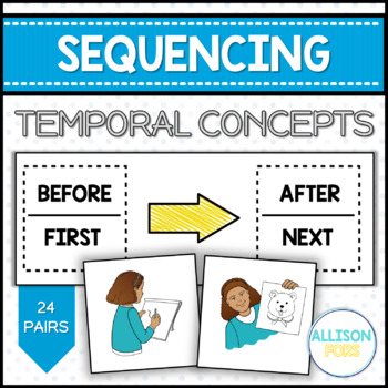 Sequencing Temporal Concepts Cards