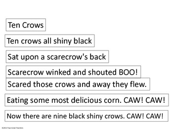 "Sequencing ""Ten Crows"""