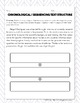 Sequencing Text Structure: Paragraph Analysis and Writing Assessment