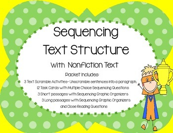 Sequencing Text Structure with Nonfiction Text