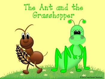 "Sequencing ""The Ant and the Grasshopper"""