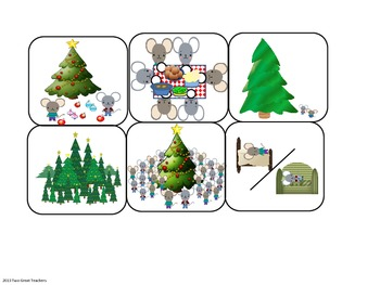"""Sequencing """"The Biggest Christmas Tree Ever"""" by Steven Kroll"""""""