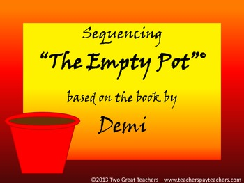 "Sequencing  ""The Empty Pot"" by Demi"