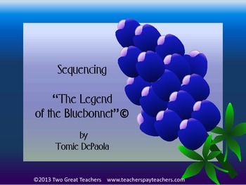 """Sequencing """"The Legend of the Bluebonnet"""""""
