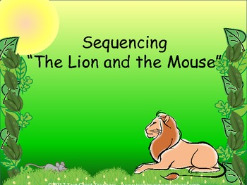 graphic regarding The Lion and the Mouse Story Printable identify Lion And The Mouse Pursuits Worksheets Instructors Shell out