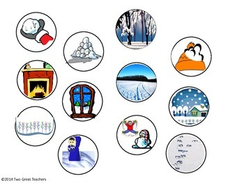 """Sequencing """"The Snowy Day"""" by Ezra jack Keats"""