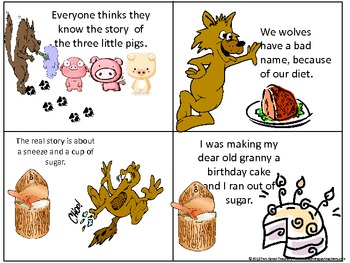 Sequencing Quot The True Story Of The Three Little Pigs Quot By
