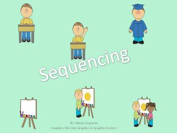 Sequencing Three Picture Cards