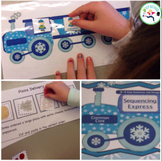 Language Sequencing - winter themed