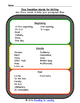 Sequencing Transition Words for Writing: Graphic Organizer and Practice Page