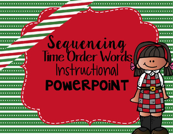 Sequencing/Transitional Words Instructional PowerPoint