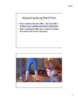 """Sequencing Using Short Films - """"The Controller"""""""