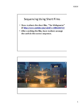 Sequencing Using Short Films - The Wishgranter