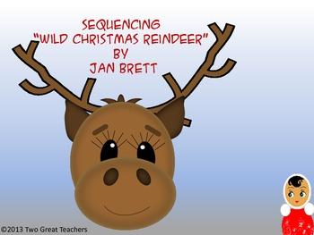 """Sequencing """"Wild Christmas Reindeer"""" by Jan Brett"""