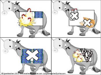 """Sequencing With """"Click Clack Moo""""©"""