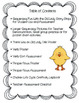 There Was an Old Lady Who Swallowed a Chick Sequencing Craftivity/Life Cycle