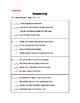 Sequencing Worksheet