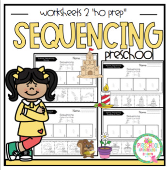 """Sequencing Worksheets #2 """"No Prep"""""""