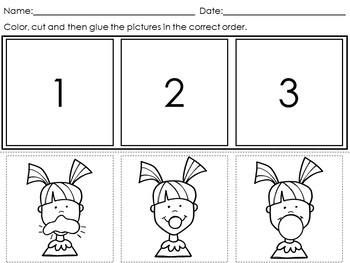 Sequencing Worksheets