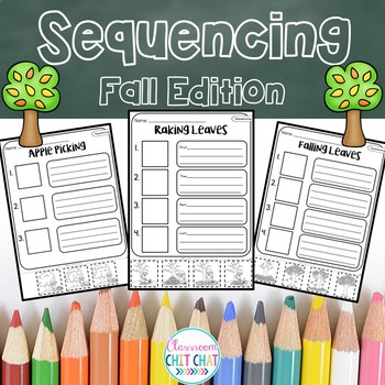 Sequencing Worksheets - Fall / Autumn