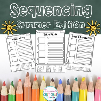 Sequencing Worksheets - Summer