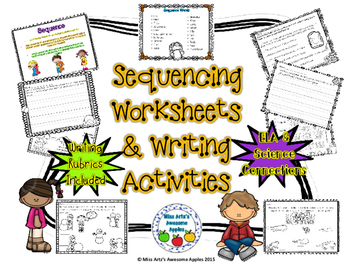 Sequencing Worksheets and Writing Activities