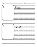 Sequencing Writing Sheets