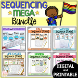 Sequencing Writing and Reading Passages Bundle - Distance Learning
