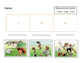 Sequencing activities for Boy who cried wolf