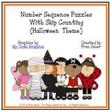 Sequencing and Counting Puzzles for Halloween