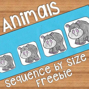 Sequencing by Size: Height, Length, Weight, Capacity FREEBIE