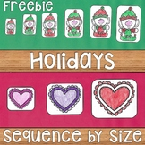 Sequencing by Size: Length, Height, Weight, Size FREEBIE