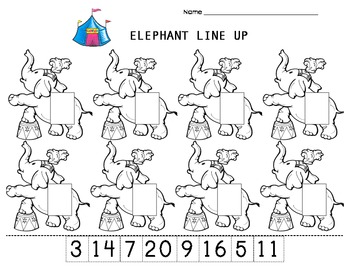 Sequencing numbers from least to greatest