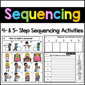 image relating to 4 Step Sequencing Pictures Printable identified as 3 Think about Series Worksheets Instruction Supplies TpT