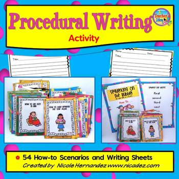 Procedural Writing - How to Writing Card Game and Writing Sheets