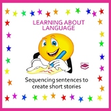Sequencing sentences to create short stories