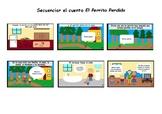 Sequencing the story El Perrito Perdido